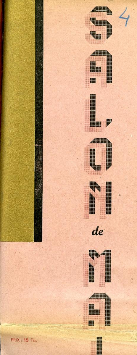 Lien vers le catalogue de mai 1947 © Documentation Musée des Beaux-Arts. Mairie de Bordeaux