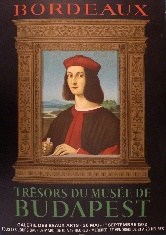 """Lien vers la documentation de l'exposition de 1972 """"Trésors du Musée de Budapest"""""""