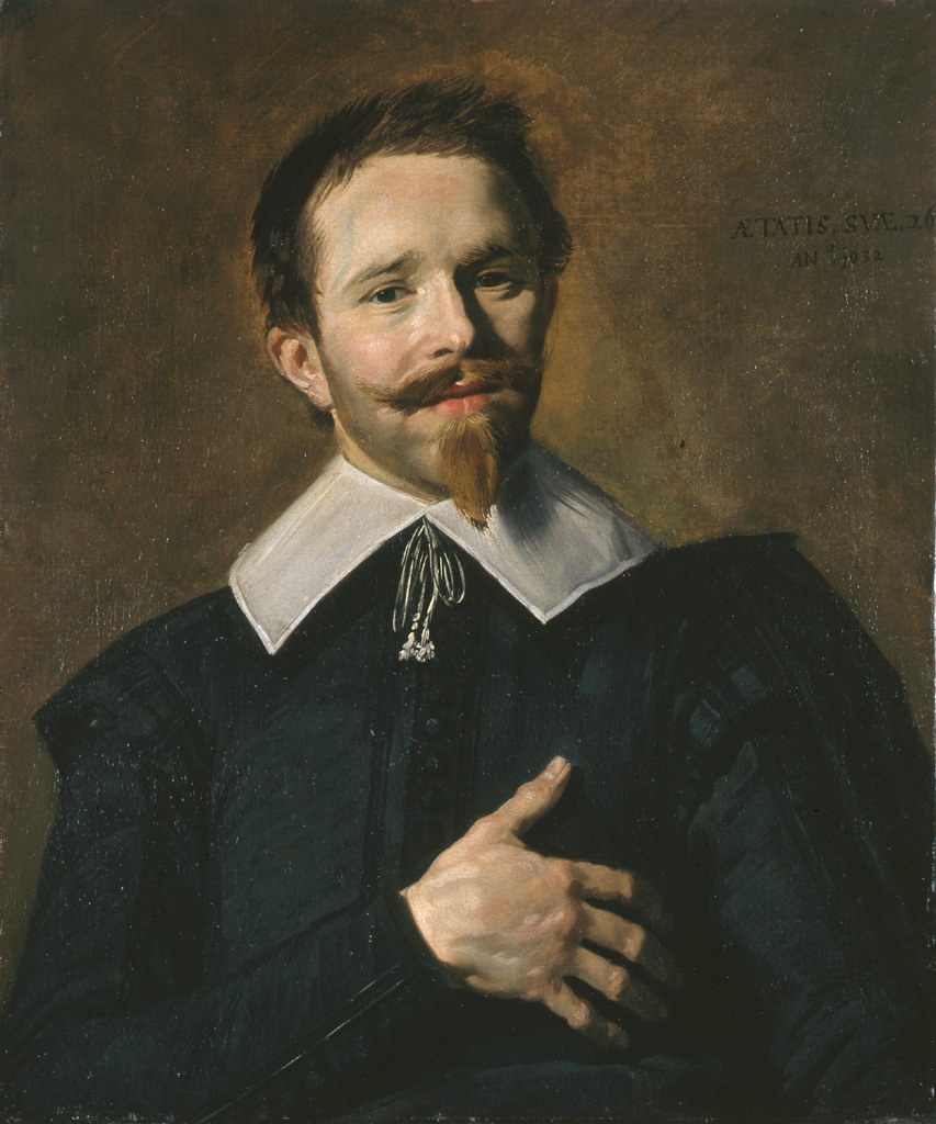 L'Homme à la main sur le cœur (1632) de Frans Hals. © Musée des Beaux-Arts-mairie de Bordeaux. Cliché L.Gauthier