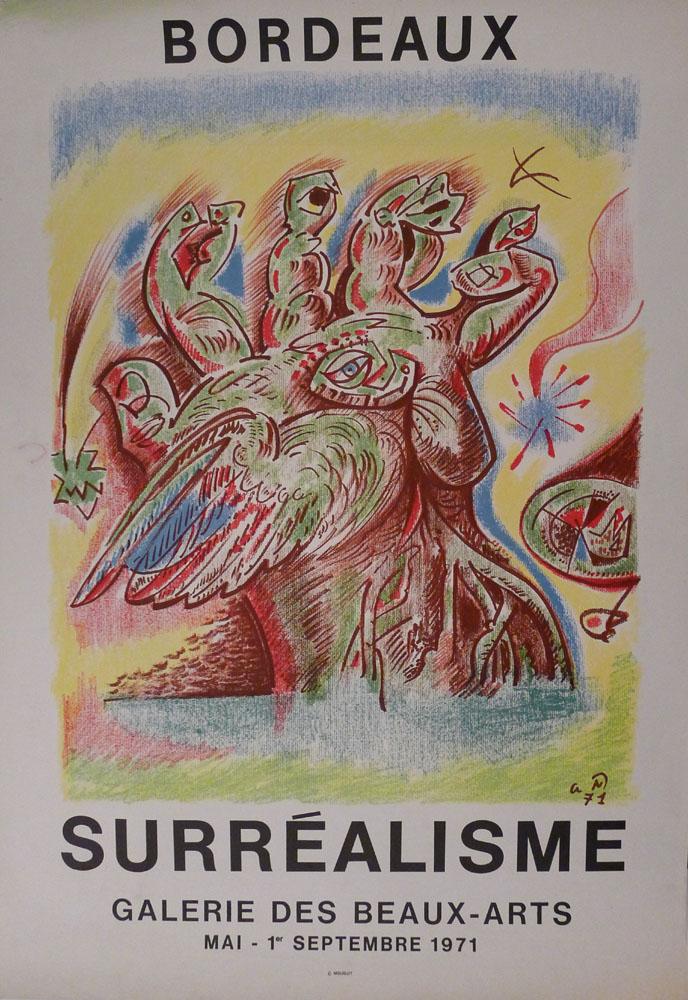 """Lien vers la documentation de l'exposition de 1971 """"Surréalisme"""""""