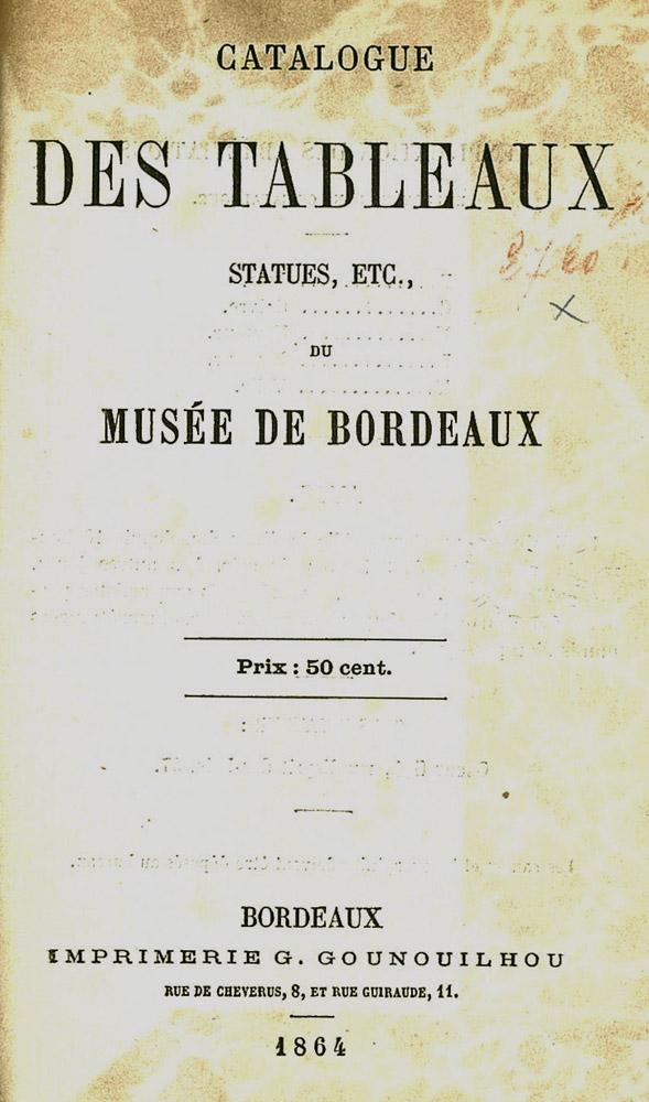 Lien vers le catalogue des collections du musée des Beaux-Arts, 1864 © Documentation Musée des Beaux-Arts-Mairie de Bordeaux