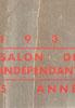 Lien vers le catalogue du salon des Artistes Indépendants Bordelais, 1932