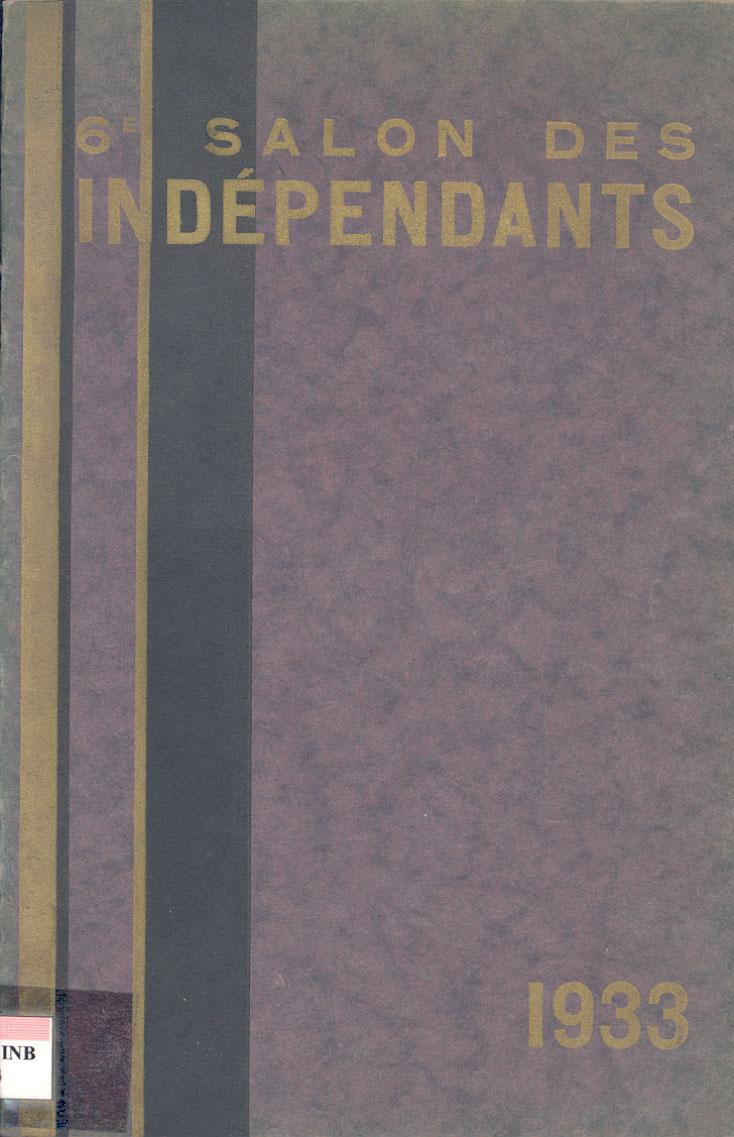 Lien vers le catalogue du salon des Artistes Indépendants Bordelais, 1933
