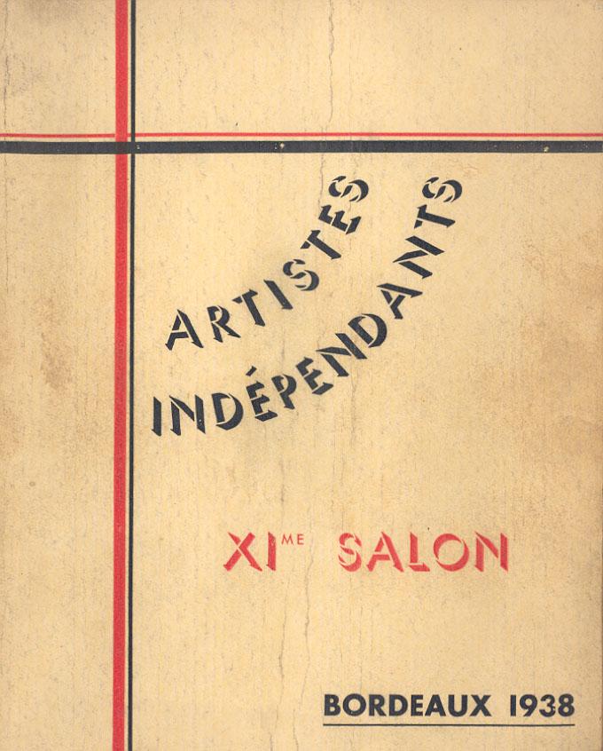 Lien vers le catalogue du salon des Artistes Indépendants Bordelais 1938