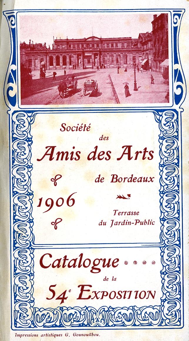 Lien vers le catalogue de 1906
