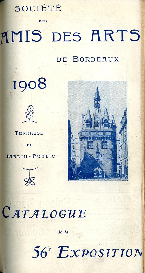 Lien vers le catalogue de 1908