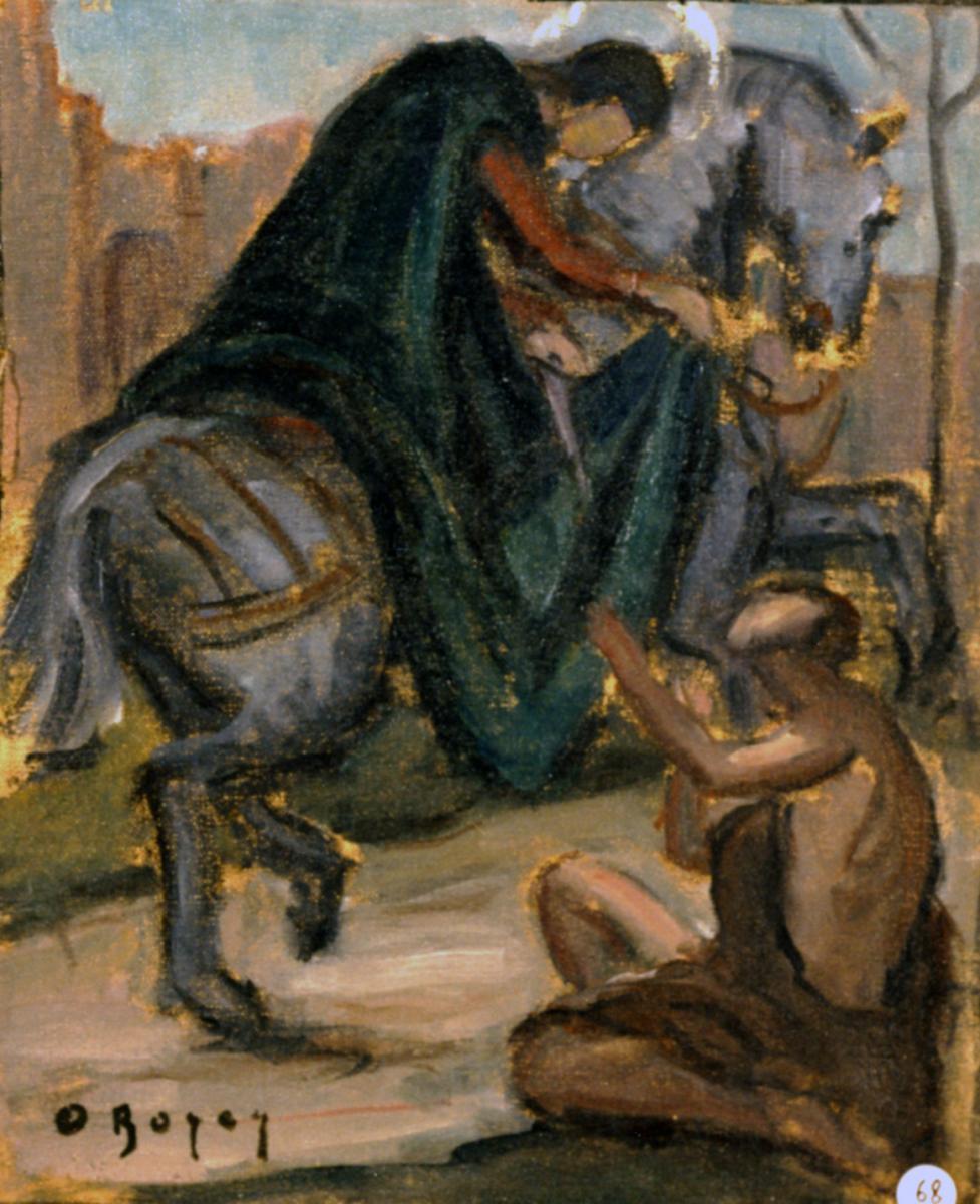 Odette Boyer-Chantoiseau. Saint Martin, 1929. Collection particulière