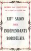 Lien vers le catalogue du salon des Artistes Indépendants Bordelais mai 1946 © Documentation Musée des Beaux-Arts. Mairie de Bordeaux