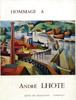 Lien vers la couverture du catalogue de l'eposition de 1967, Hommage à André Lhote