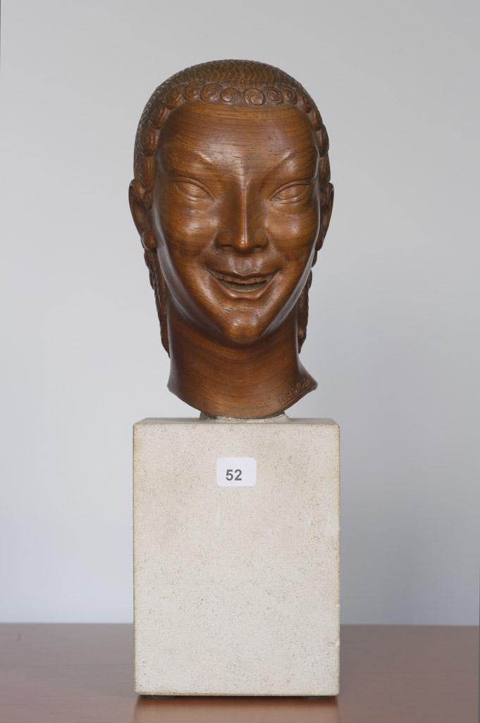 Image : Alexandre Callède. Kouros, 1932. Collection particulière