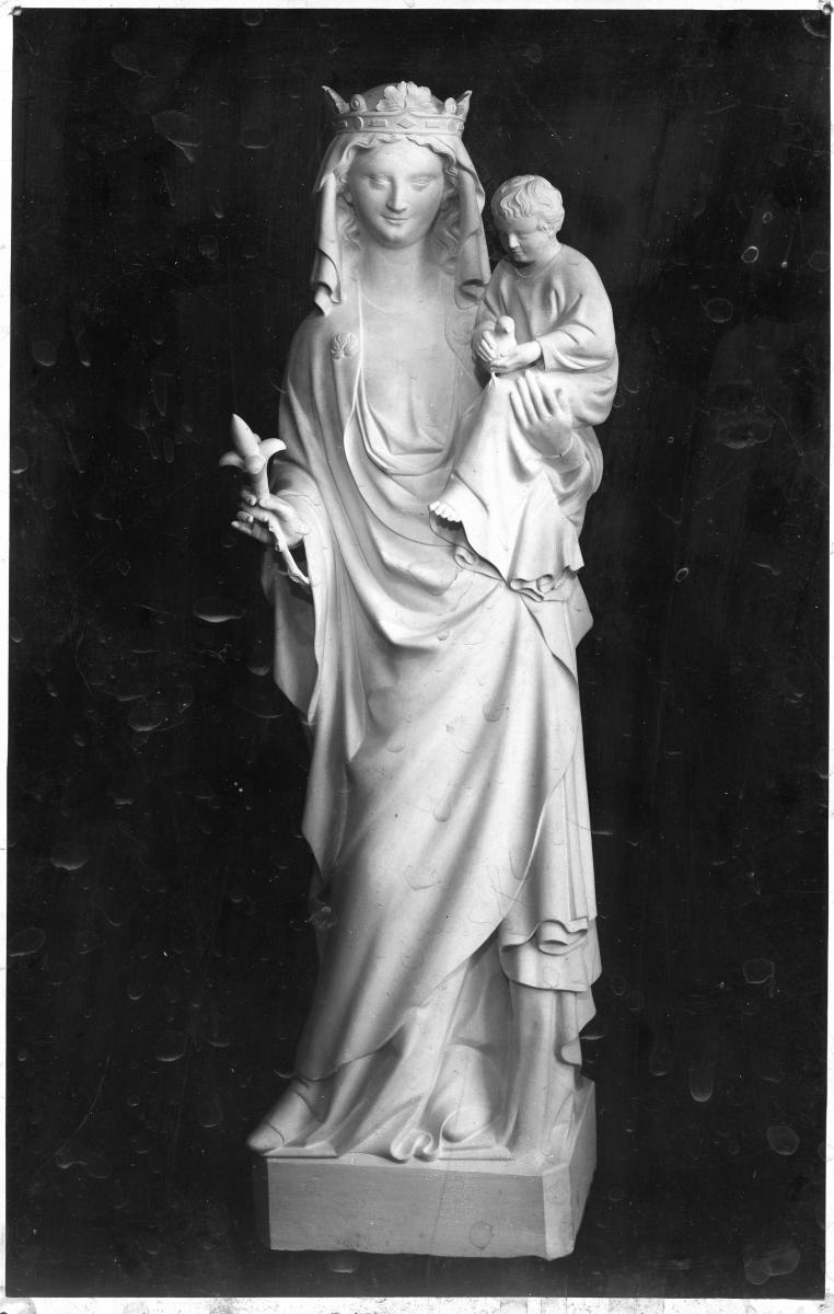 Image : Alexandre Callède. Vierge à l'Enfant, 1929. Collection particulière