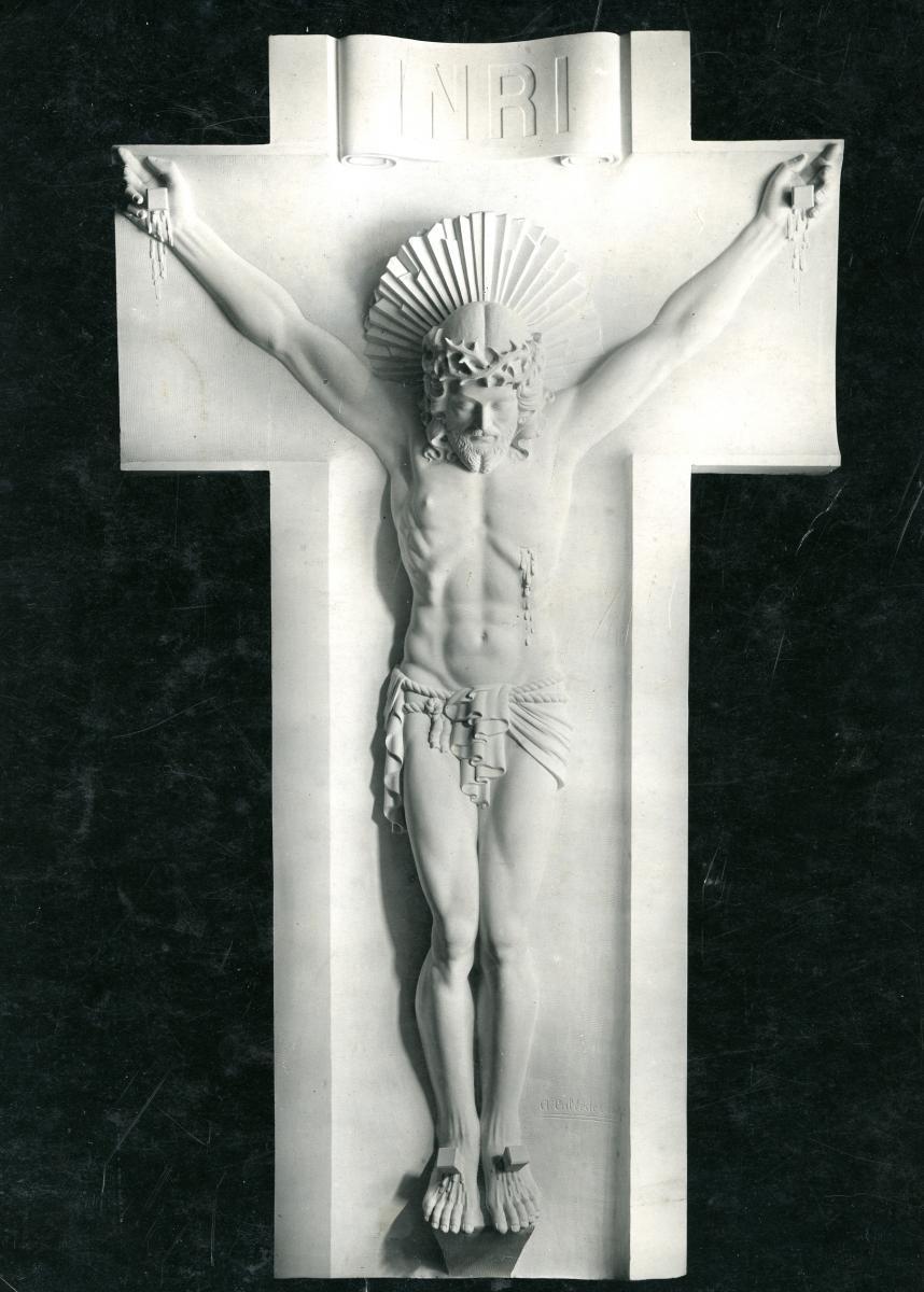 Image : Alexandre Callède. Crucifix, 1934. Collection particulière