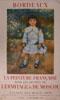 Lien vers la documentation de l'exposition de 1965 Chefs-d'oeuvre de la peinture française dans les musées de l'Ermitage et de Moscou
