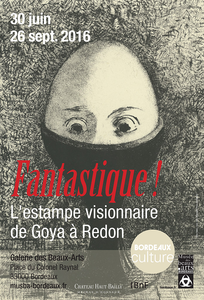 Lien vers la documentation de l'exposition Fantastique ! - Bordeaux, Musée des Beaux-Arts, 2016