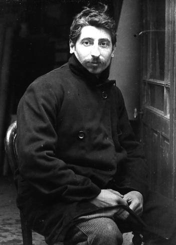 Image : Portrait de Lucien Schnegg, vers 1909. Documentation du musée des Beaux-Arts de Bordeaux. Don Jeanne Schnegg, 1985