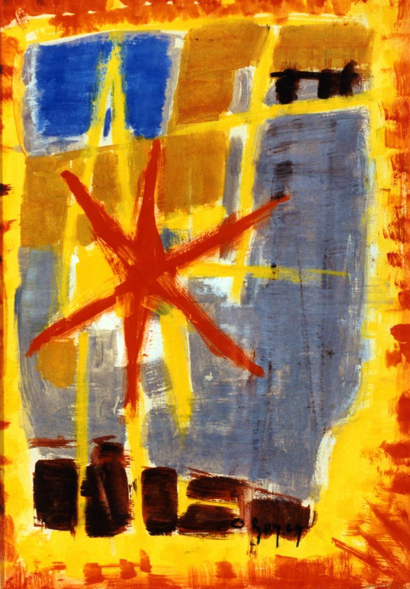 Odette Boyer-Chantoiseau. L'Effet de cette lumière, 1952. Collection particulière