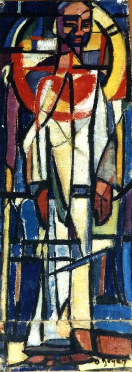Odette Boyer-Chantoiseau. Charles de Foucauld, 1951. Collection particulière