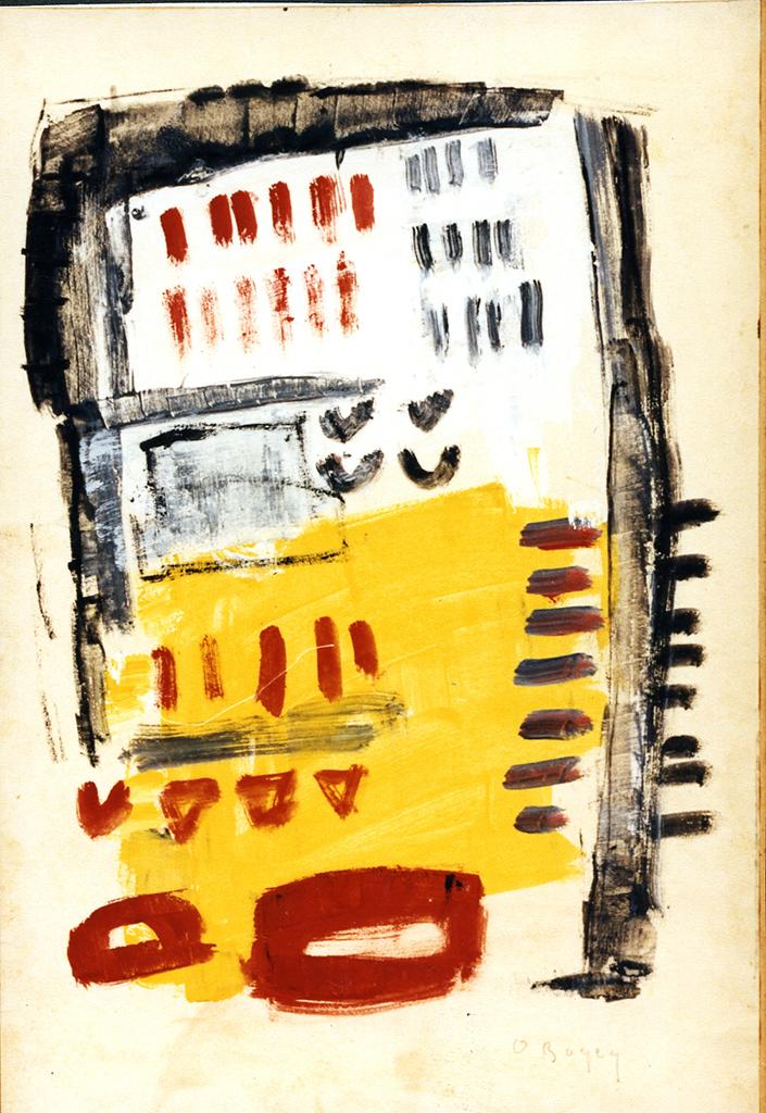 Odette Boyer-Chantoiseau. Lourdes, 1955. Collection particulière