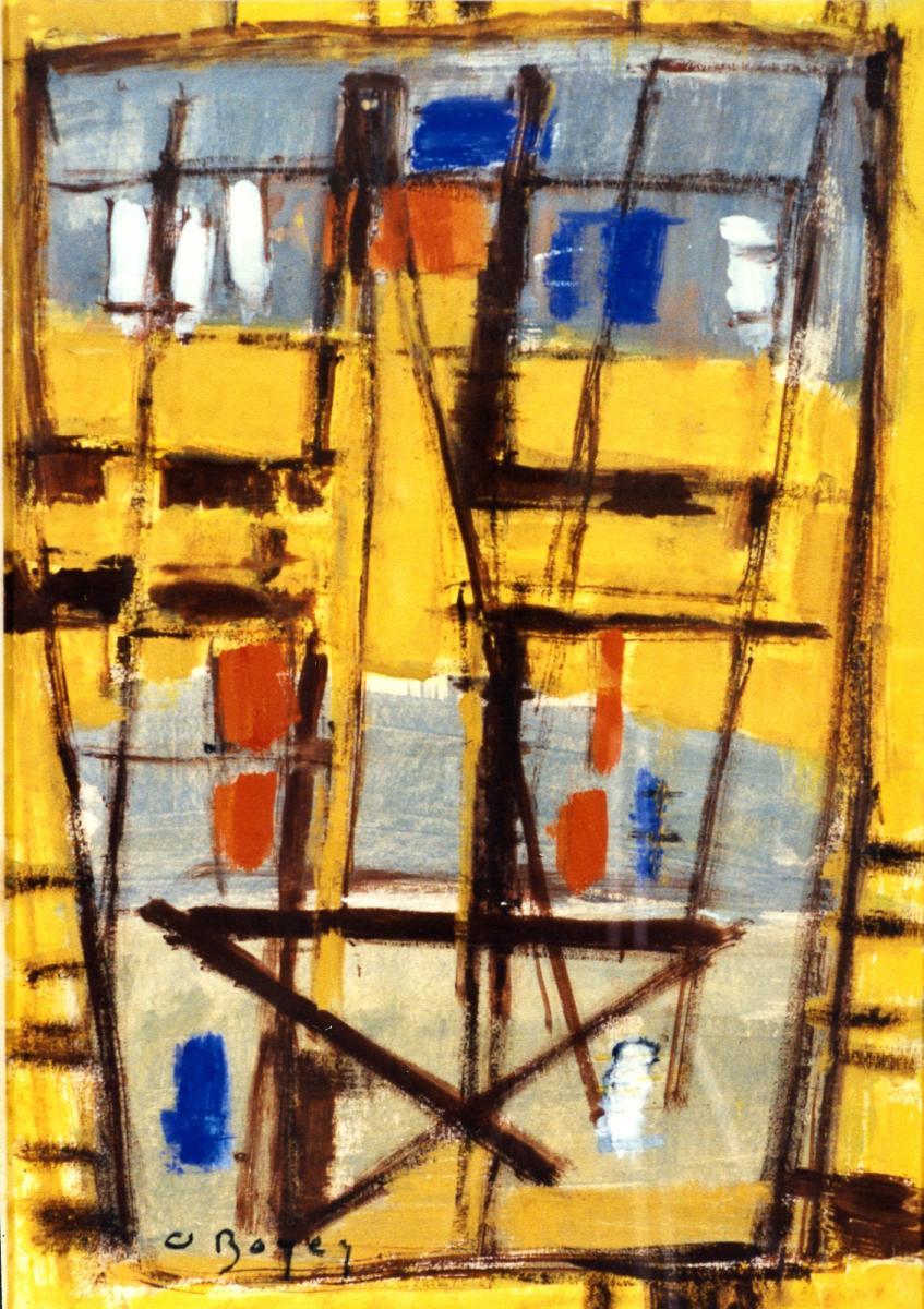Odette Boyer-Chantoiseau. Mère, voici vos fils, 1952. Collection particulière