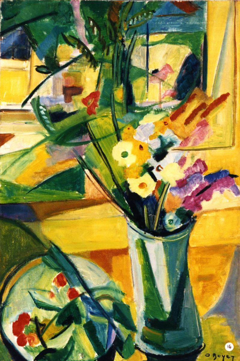Odette Boyer-Chantoiseau. Nature morte, 1948-1949. Collection particulière