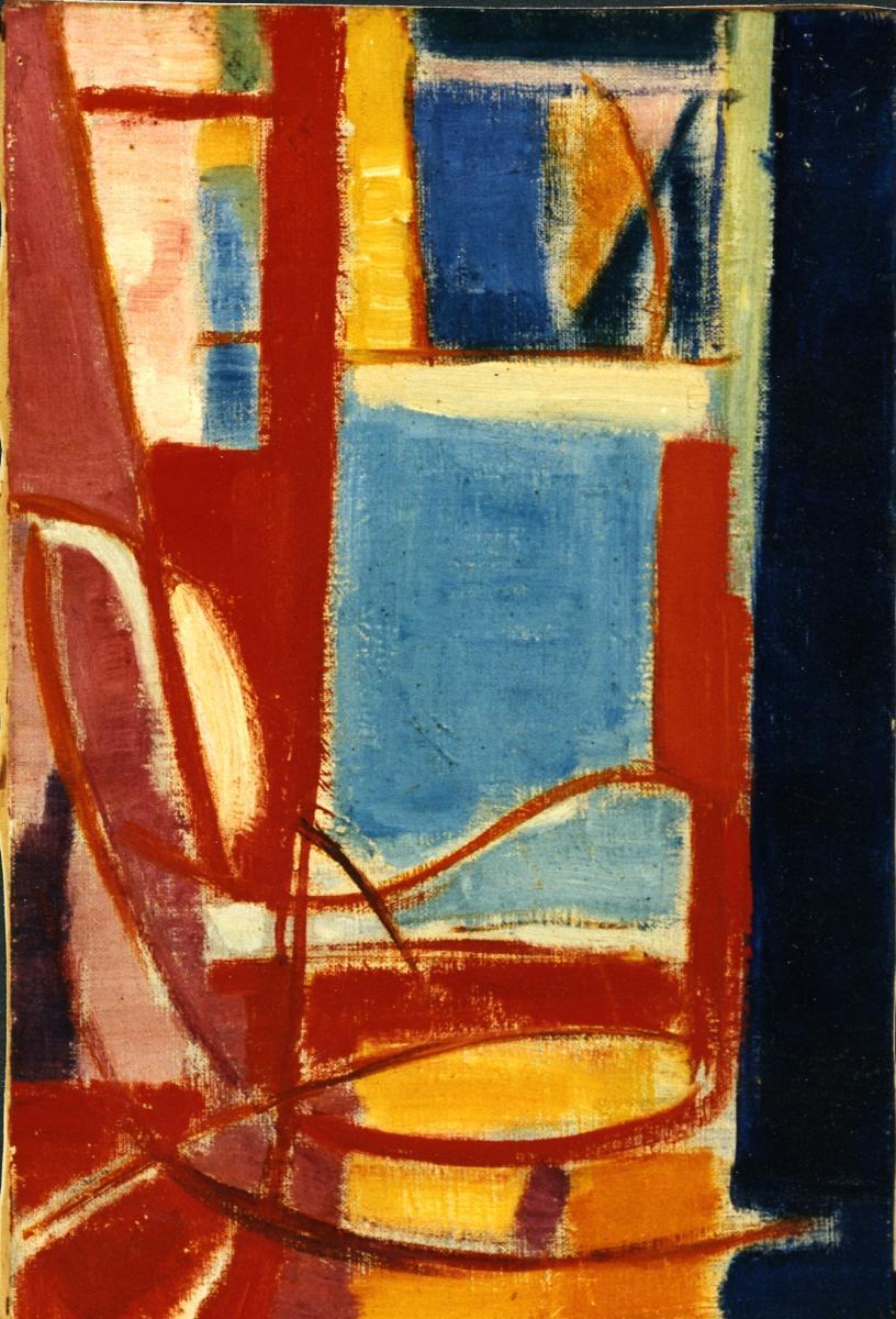 Odette Boyer-Chantoiseau. Fauteuil de Basterade, 1948-1949. Collection particulière