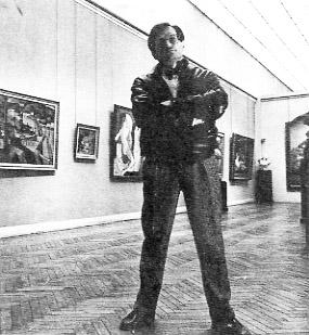 Portrait de Philippe Le Leyzour - Photographie anonyme © Documentation Musée des Beaux-Arts - Mairie de Bordeaux