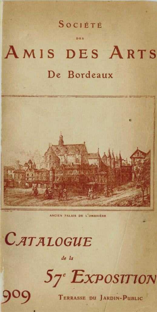 Lien vers le catalogue de 1909