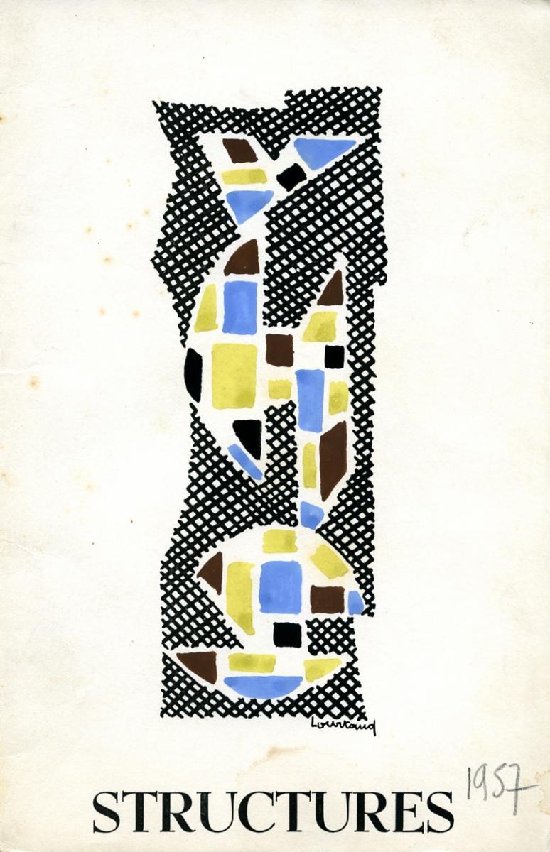 Lien vers le catalogue du salon Structures, 1957